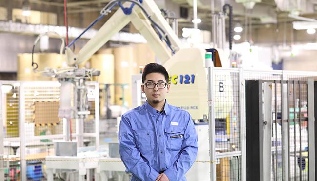 2018年入社熊谷工場印刷オペレーター