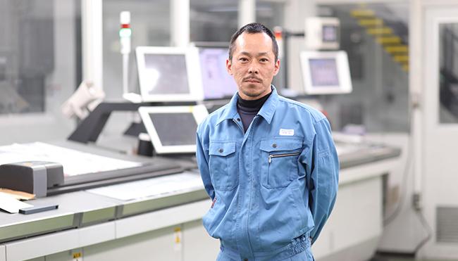 2001年中途入社 熊谷工場印刷オペレーター