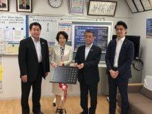 戸田市立芦原小学校に譜面台を10台寄贈し戸田市の広報誌に掲載されました。
